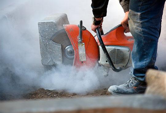 taglio cemento modena