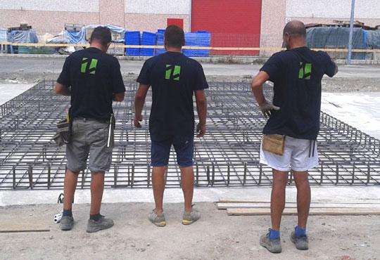 preparazione lavoro impianto